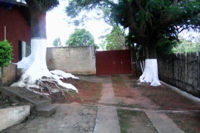 Área externa e de convivência da clínica de recuperação para drogados e viciados em Jaguariúna SP