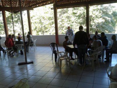 Área de convivência da clínica de recuperação de dependentes químicos e alcoólicos em jaguariúna sp