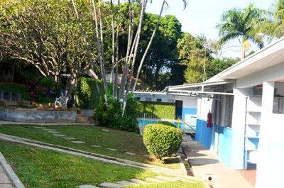 Área de convivência da clínica de recuperação para dependentes químicos em pedreira sp