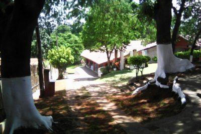 Área de lazer da clínica de reabilitação para dependentes químicos em jaguariúna sp